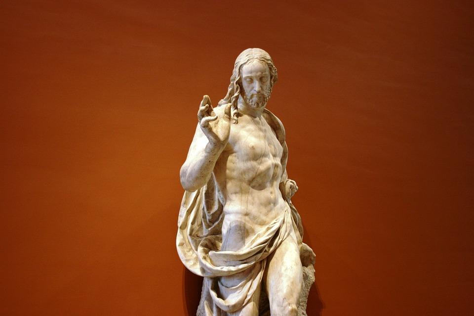 Jesus Christ, Resurrection, Sculpture, Louvre, Easter