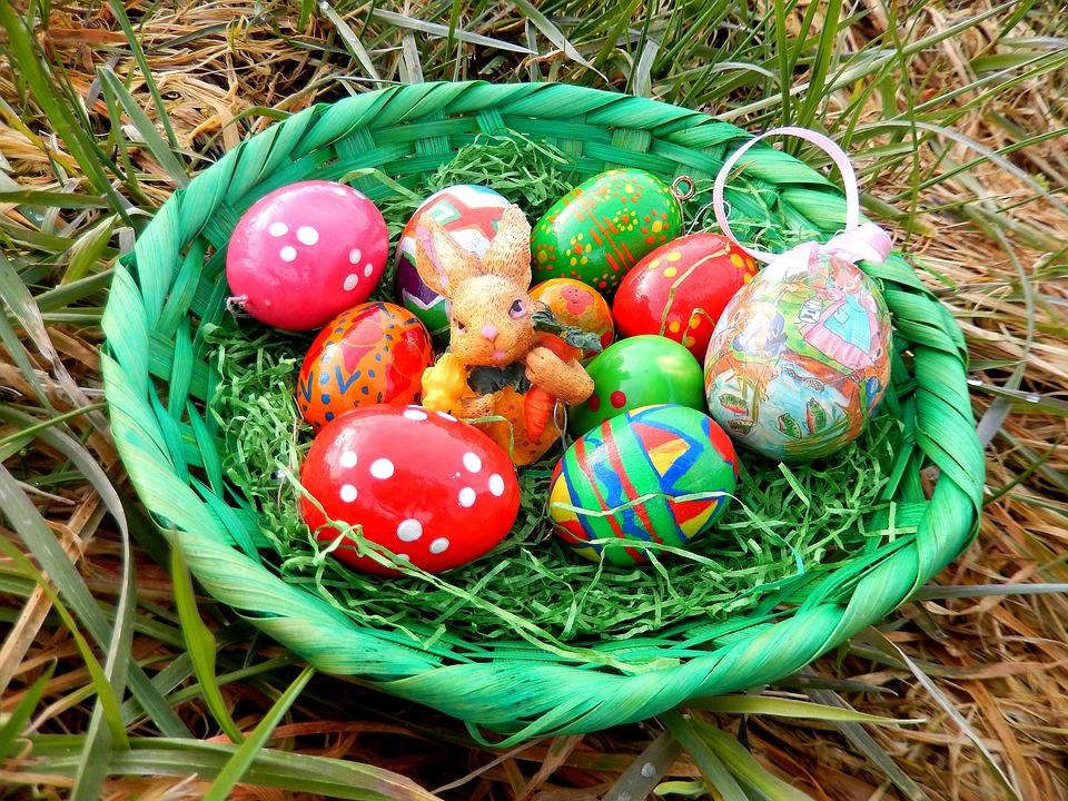 Easter Nest, Easter Eggs, Easter, Easter Theme