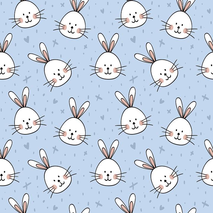 Rabbits, Animal, Background, Easter, Wallpaper, Rabbit