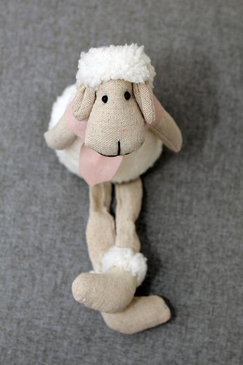 Sheep, Easter Sheep, Easter, Stuffed Animal, Cute