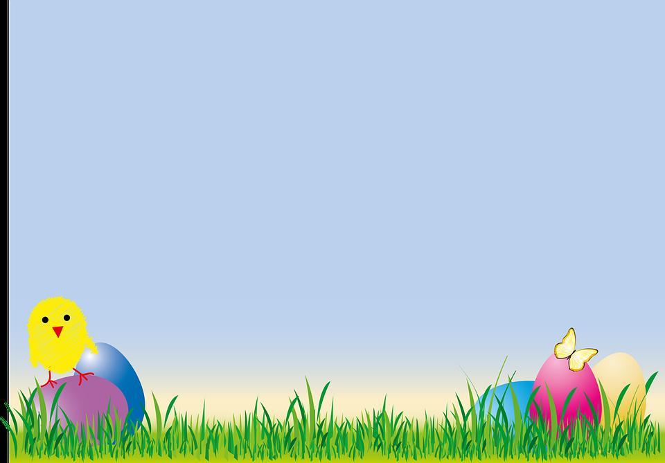 Easter, Chicks, Egg, Grass, Colorful, Spring