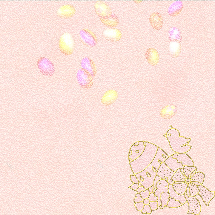 Background, Scrapbooking, Texture, Easter, Paper