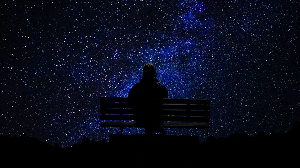 People, Darkness, Easy, Outdoors, Sky, Man, Twilight