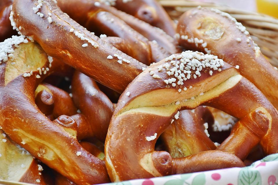 Breze, Pretzels, Salt, Delicious, Eat, Crispy, Bread