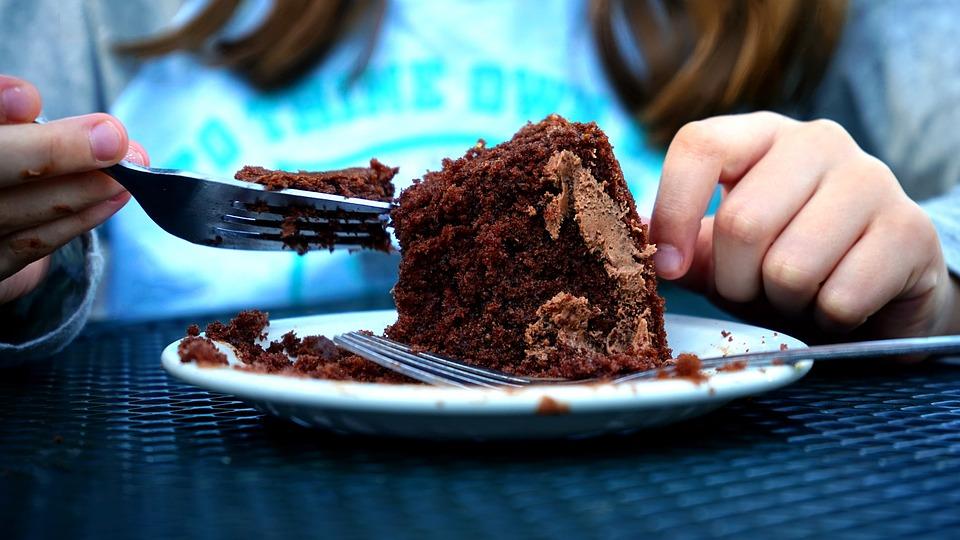 Cake, Eat, Food, Sweet, Eating, Dessert, Happy