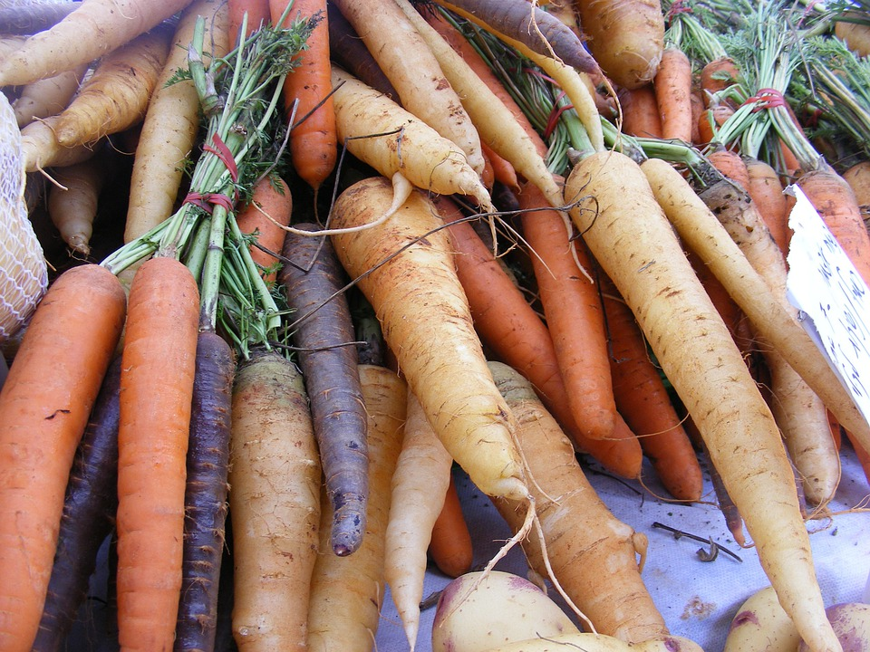 Carrots, Fruits, Veggies, Roots, Eating, Eat