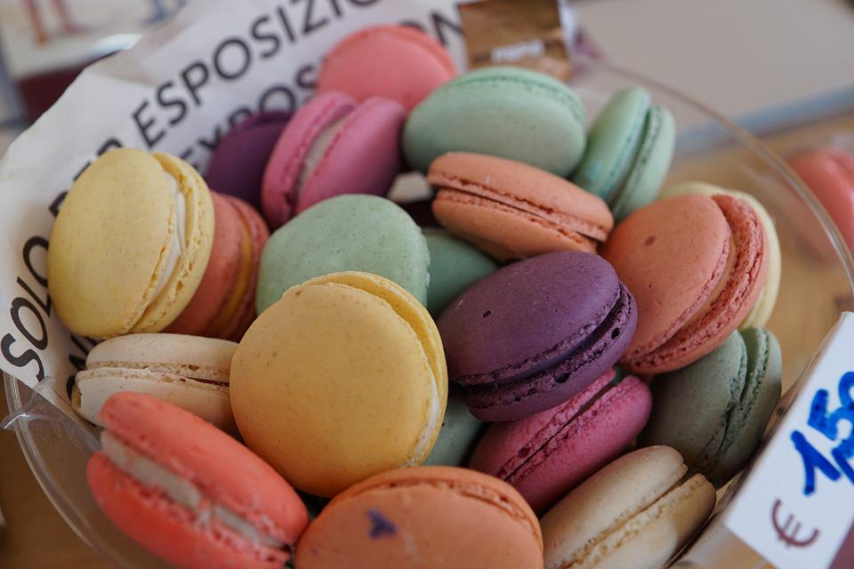 Pastries, French, Eat, Colorful