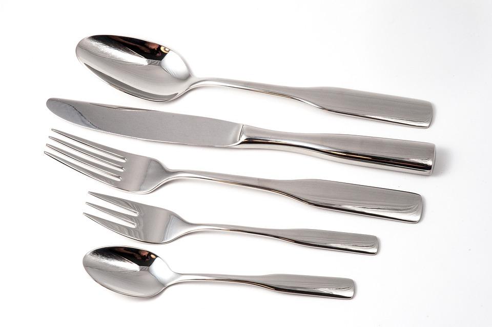 Cutlery, Eat, Cutlery Set, Shiny