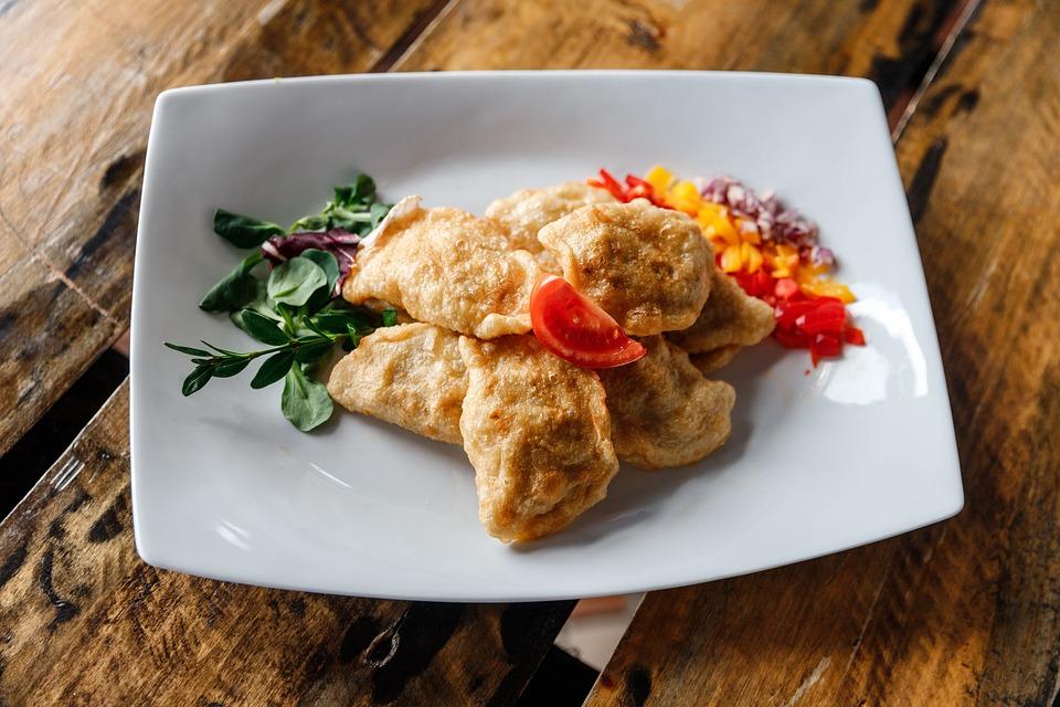 Dumplings, Eating, Dinner, Kitchen, Traditional, Eat