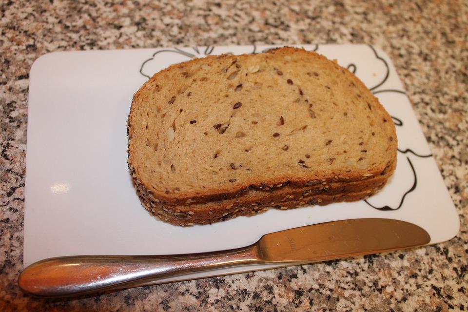 Knife, Bread, Bread Slices, Breakfast Plate, Eat, Food