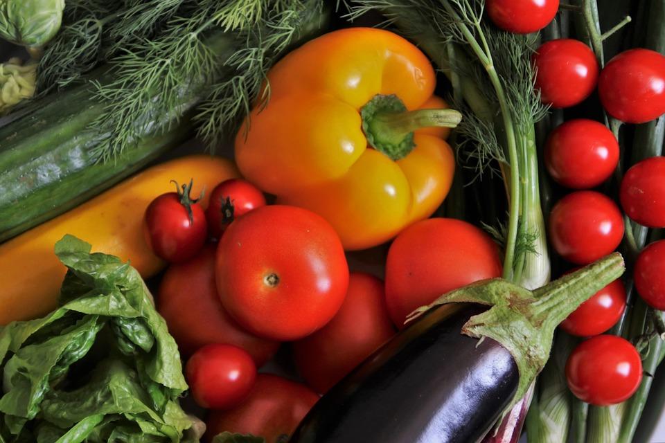 Healthy, Vegetables, Colorful, Food, Eat, Diet