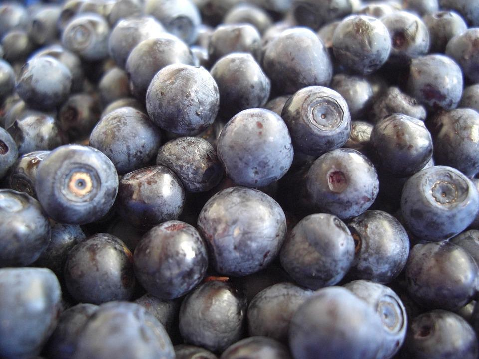 Blueberries, Fruits, Eat, Fruit, Close