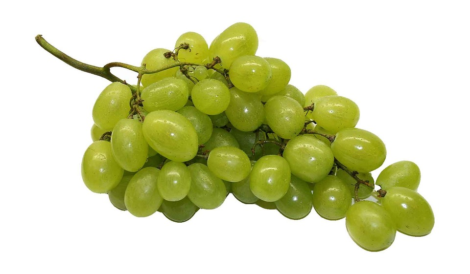 Table Grapes, Grapes, Fruit, Healthy, Green, Food, Eat