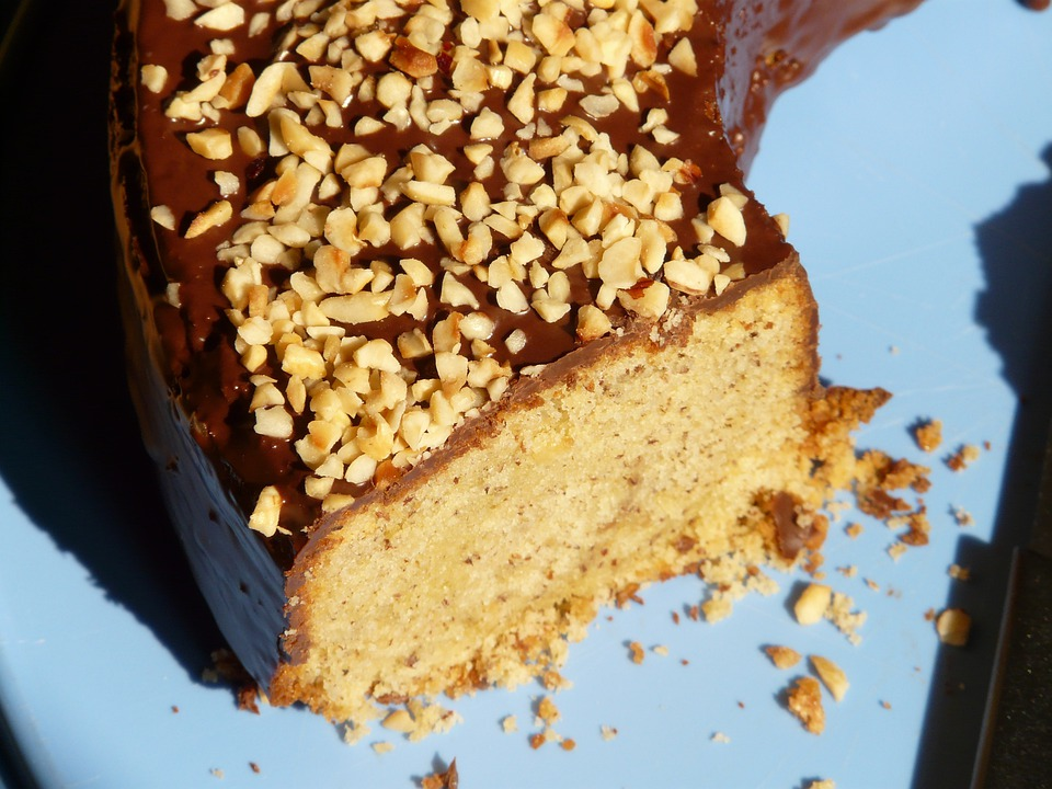 Hazelnut Ring, Hazelnut Cake, Nut, Cake, Eat, Bake