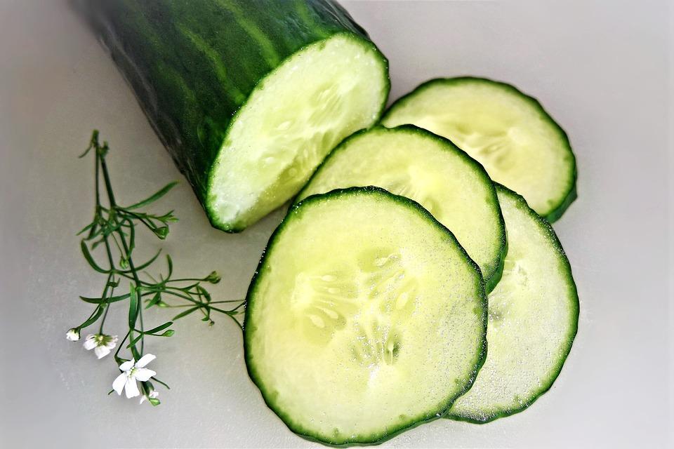 Cucumber, Vegetables, Salad, Eat, Green Cucumber, Food