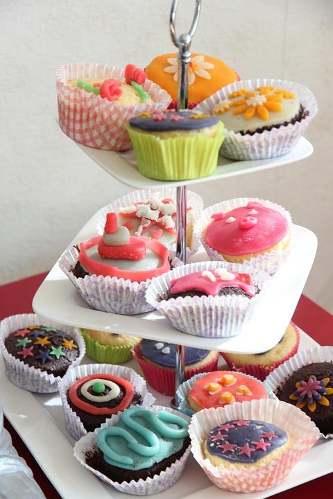 High Tea, Cupcakes, Sweet, Colors, Eat Sweets, Birthday