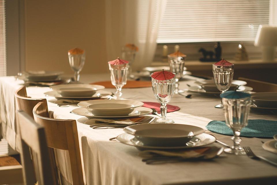 Dining Table, Eating, Dinner, Breakfast, Fresh, Food