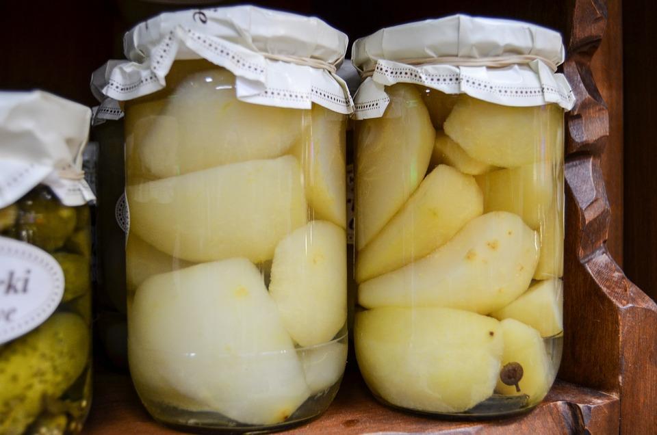 Preparations, Jars, Fruit, Jam, Natural Food, Eating