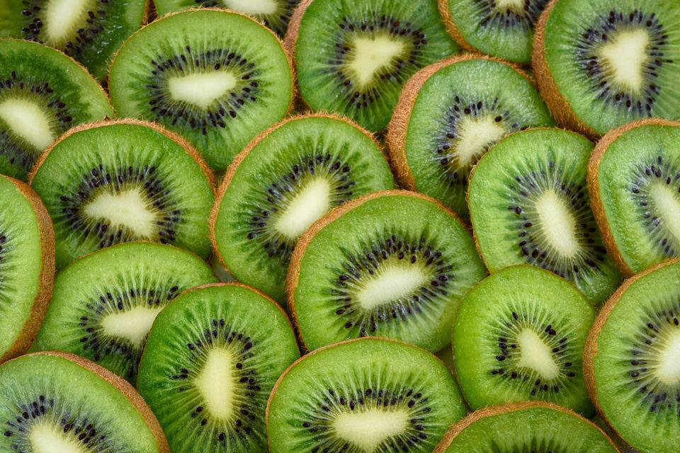 Kiwi, Fruit, The Background, Green, Healthy, Eating
