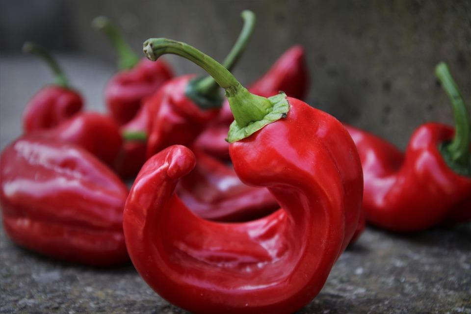 Red Pepper, Vegetables, Vitamins, Bio, Eating, Eat