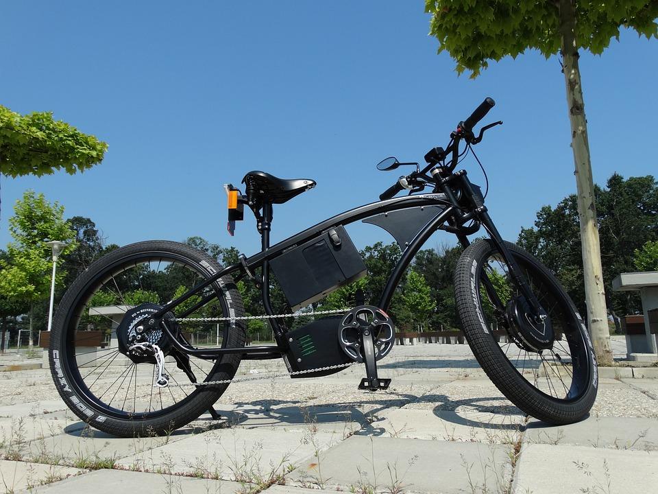Bike, Ebike, Park, Electric Bicycle