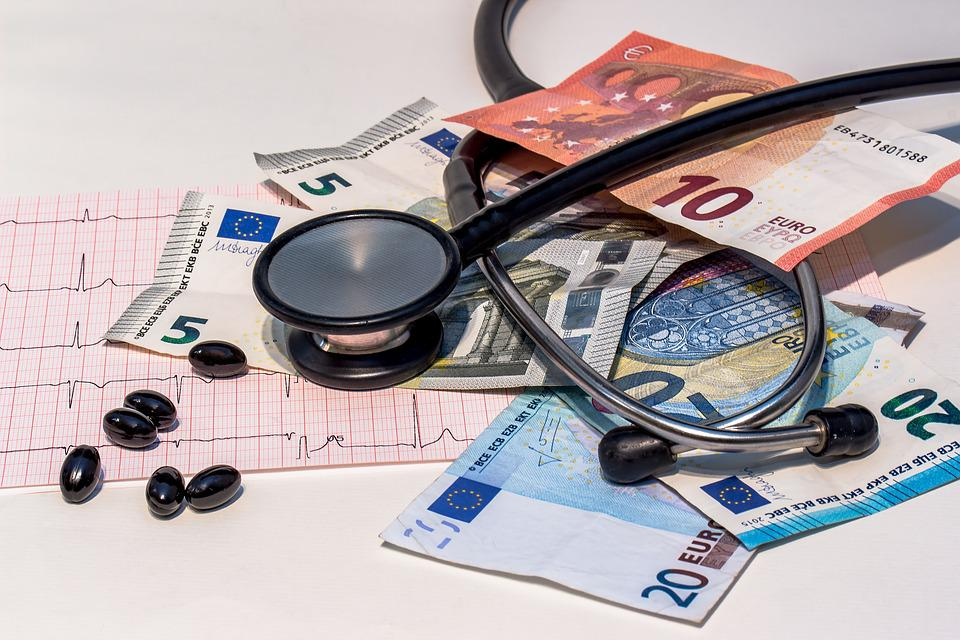 Drug, Pills, Tablets, Stethoscope, Ecg
