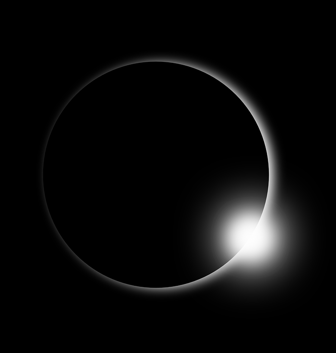 Solar Eclipse, Eclipse, Sun, Flare, Solar Flare