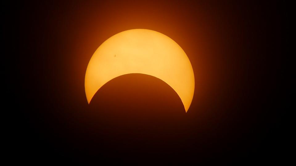 Eclipse, Sun, Solar Eclipse