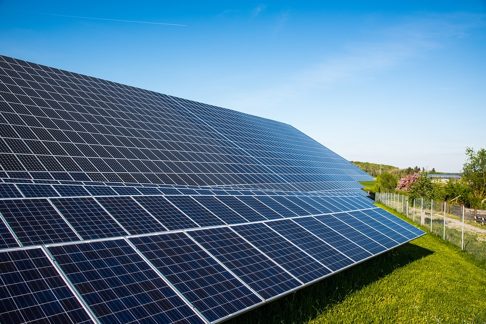 Solar Cells, Photovoltaic, Current, Eco Electricity