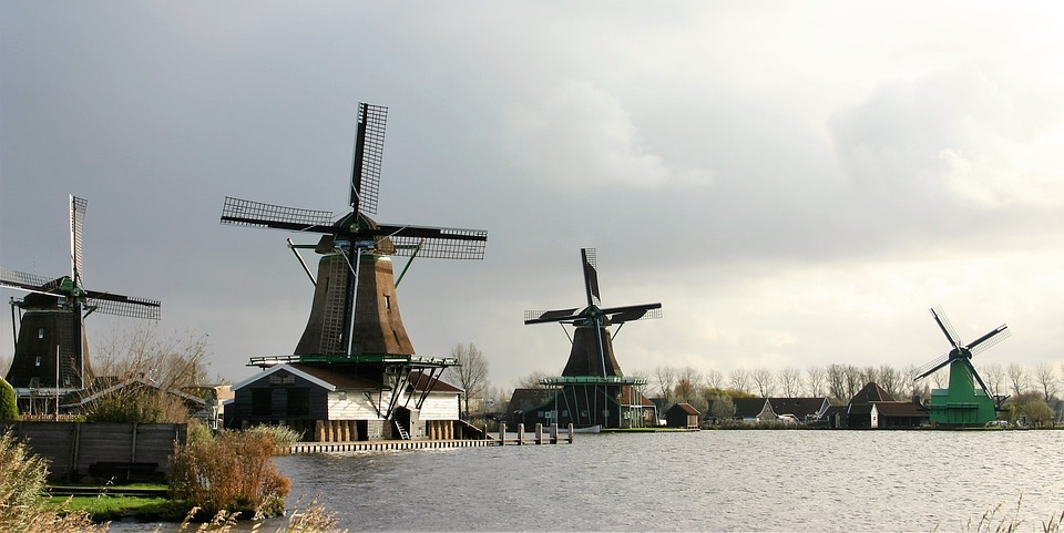 Wind, Windmill, Ecological, Irrigation, Architecture