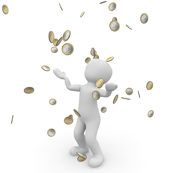 Money Rain, Euro, Bank, Money, Money Blessing, Economy