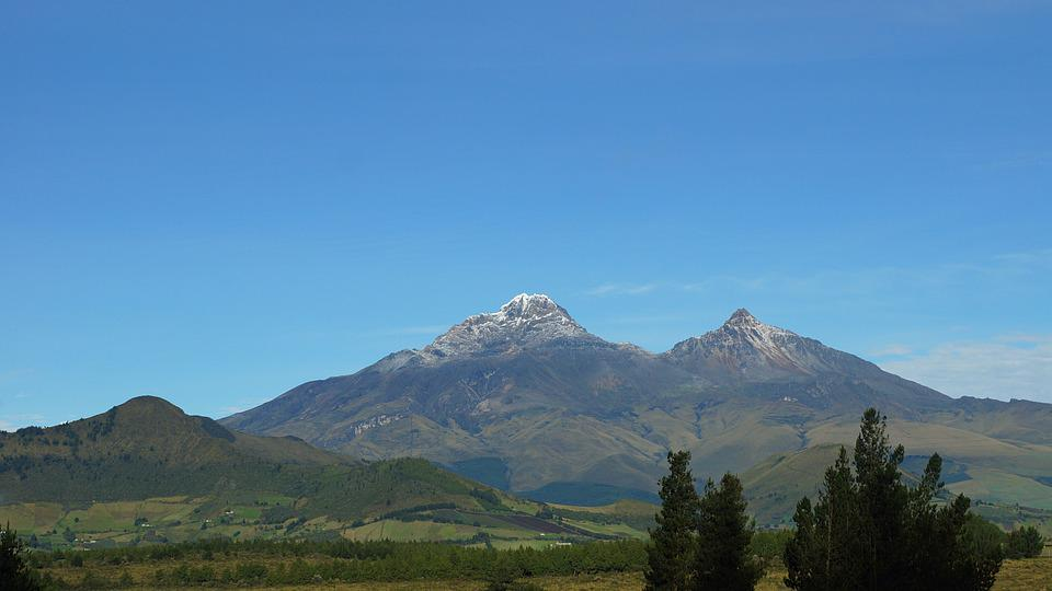 Ecuador, Ilinizas, Andes, Cloud, Mountain, Nature