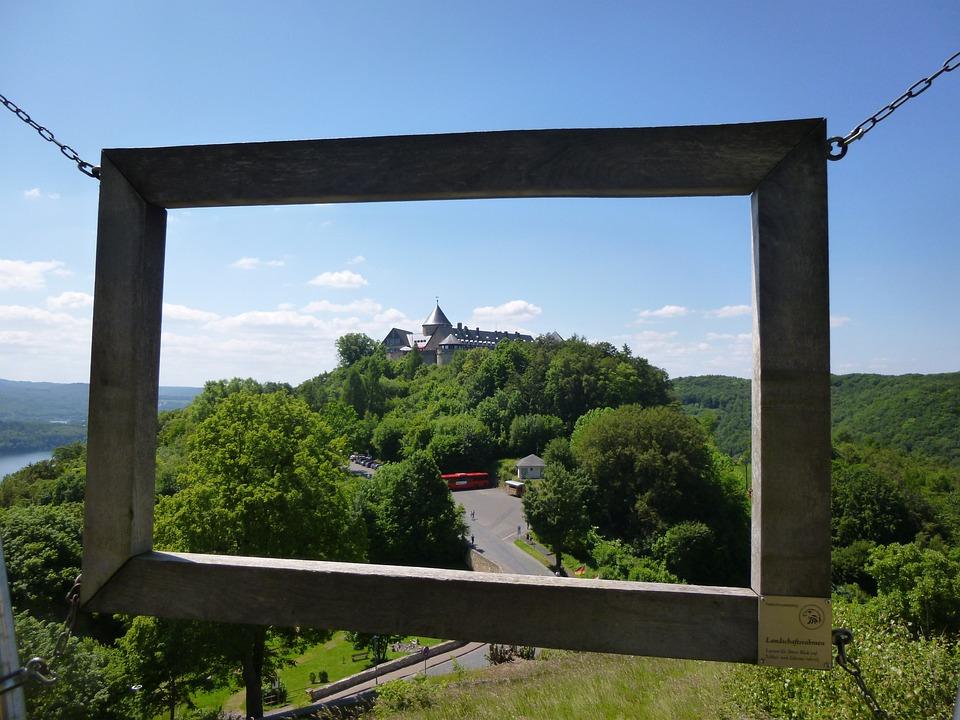 Castle, Schloss Waldeck, Edersee