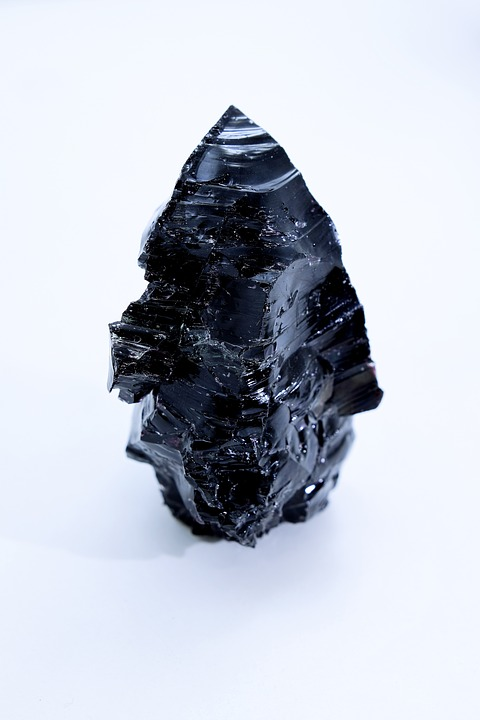 Glass Block, Gem, Edges, Semi Precious Stones, Emerald