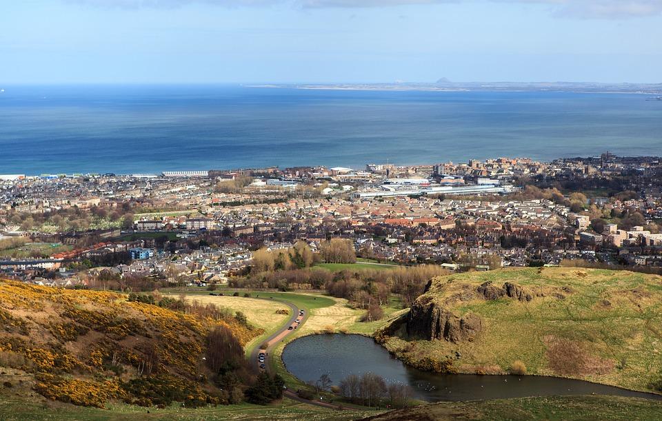 Edinburgh, Arthur's Seat, Scotland
