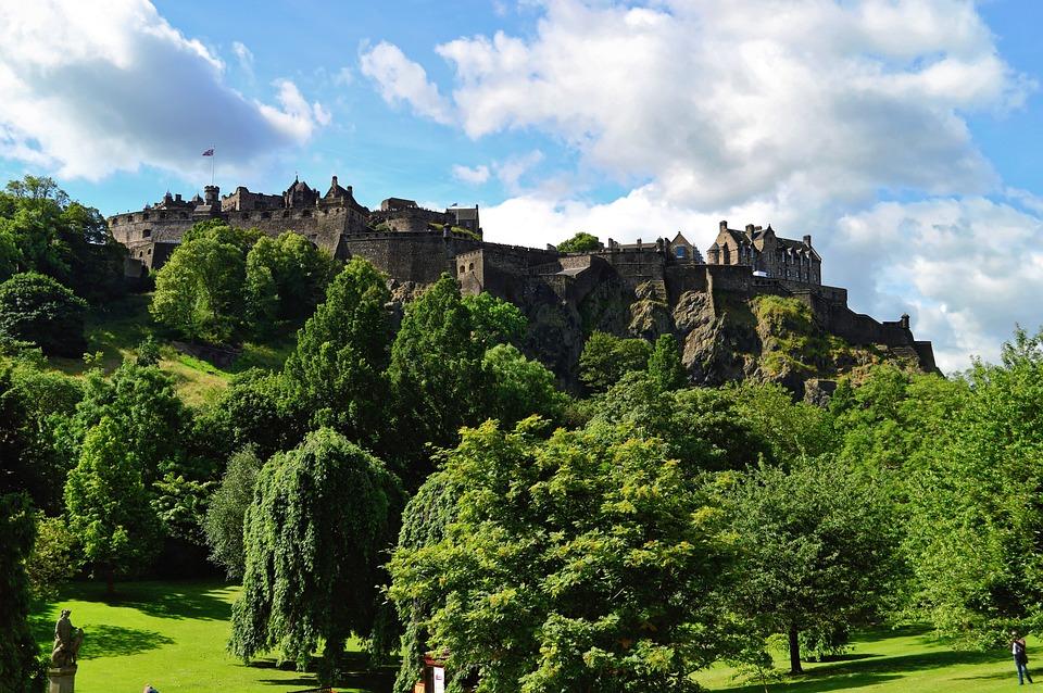 Edinburgh Castle, Edinburgh, Castle, Scotland, City