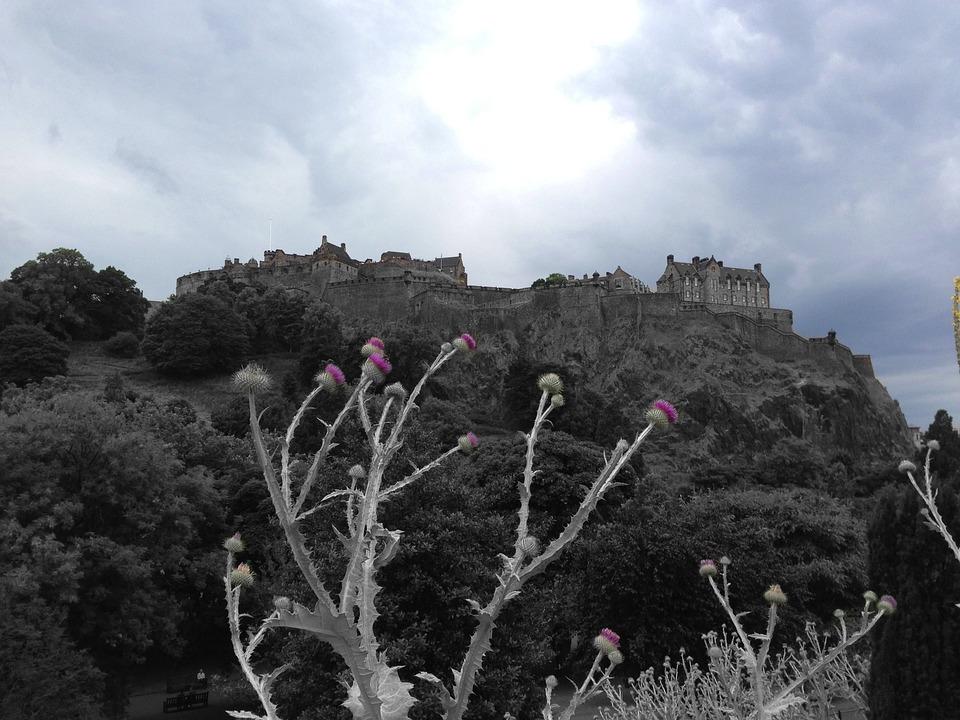 Edinburgh Castle, Thistle, Edinburgh