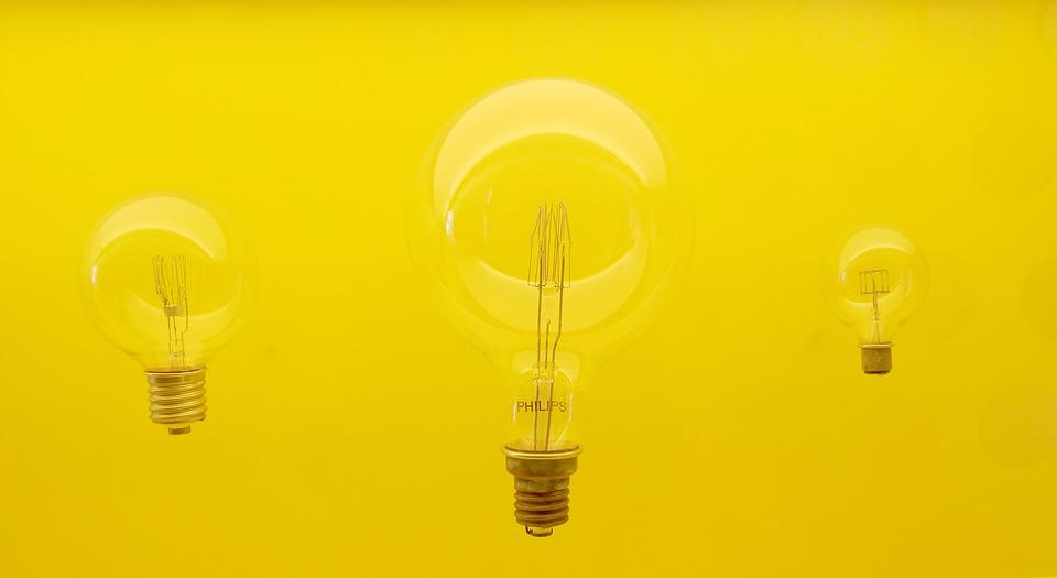Lamp, Idea, Yellow, Philips, Edison, Bulb, Light