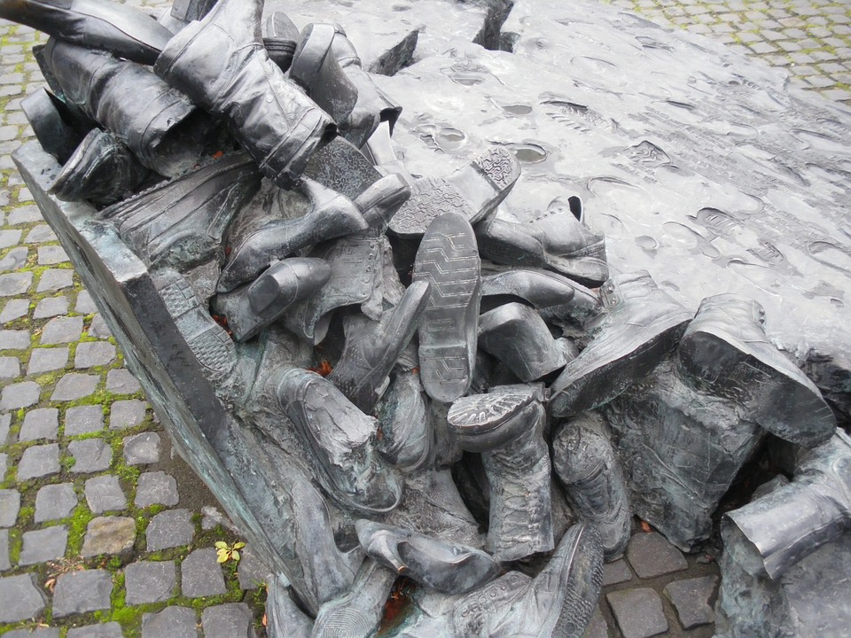 Cologne, Shoes, Memorial, Edith Stein