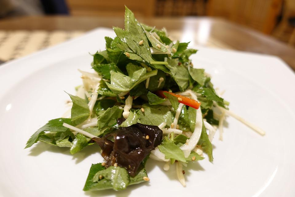 Food, Dining, Edition, Salad, Vegetable, Fresh Herbs