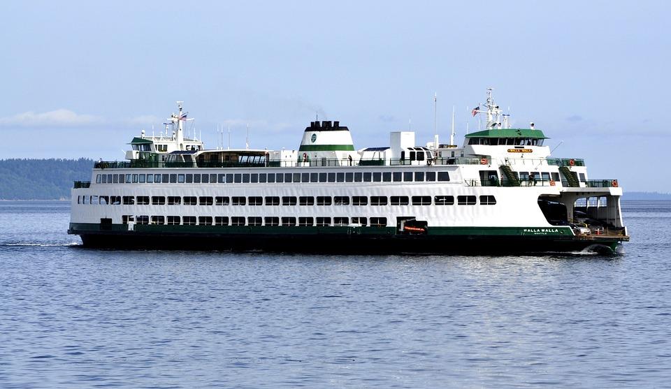 Boat, Ferry, Edmonds, Washington State, Commuter