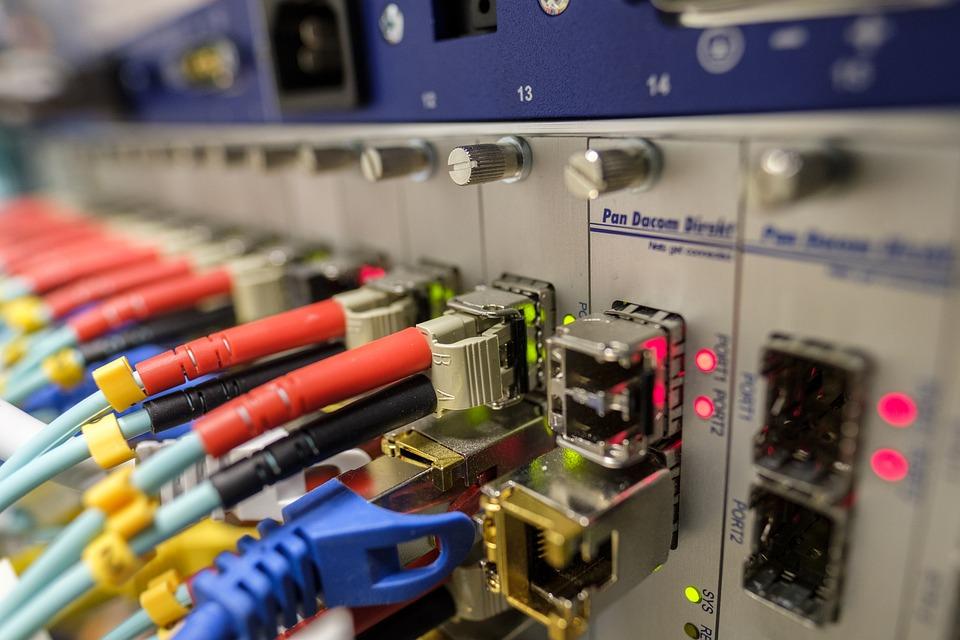 Lwl, Light Waveguide, Glass Fiber, Network, Edp, Plug