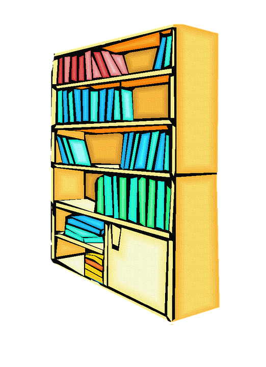 Books, Bookcase, Library, Education, Library Books