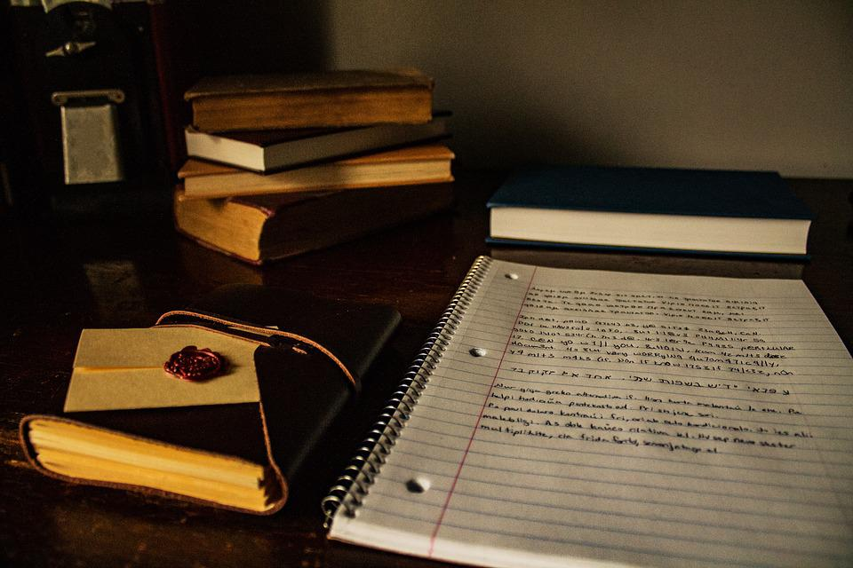 Desk, Books, Writing, Table, Education, Studying