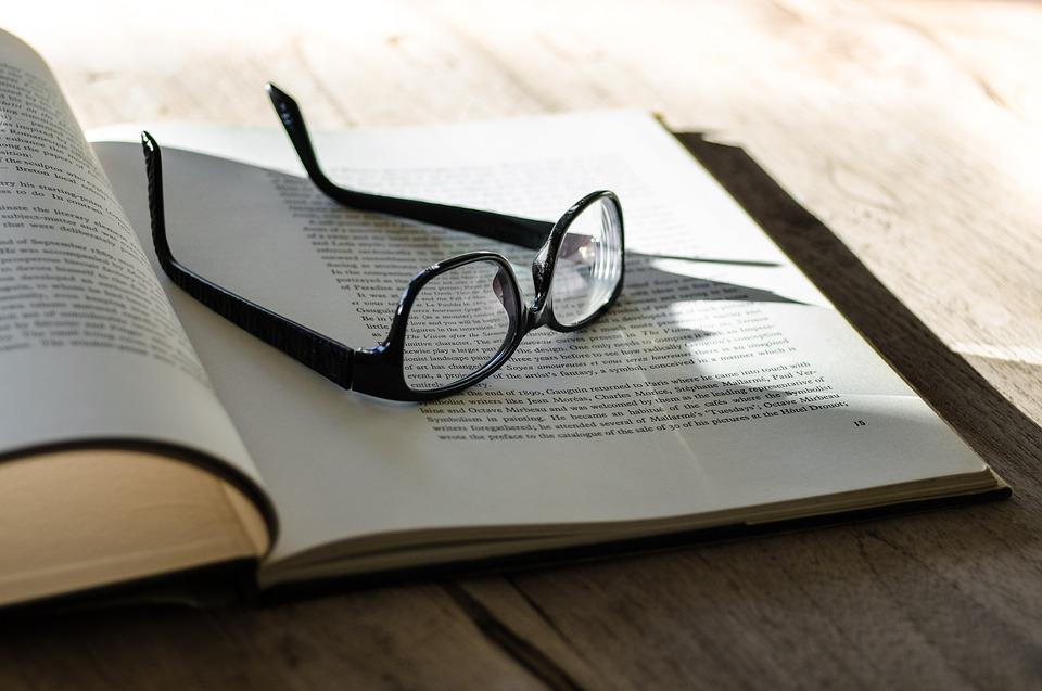 Book, Glasses, Letters, Paper, Study, Education, Page