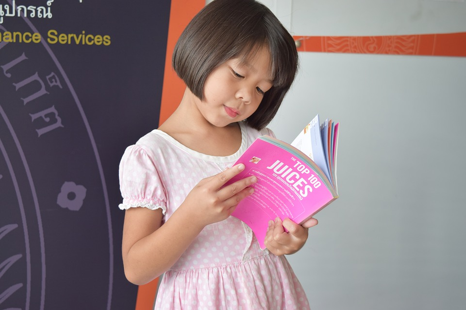 Kids, Read, Book, Child, Girl, Education, Reading Book