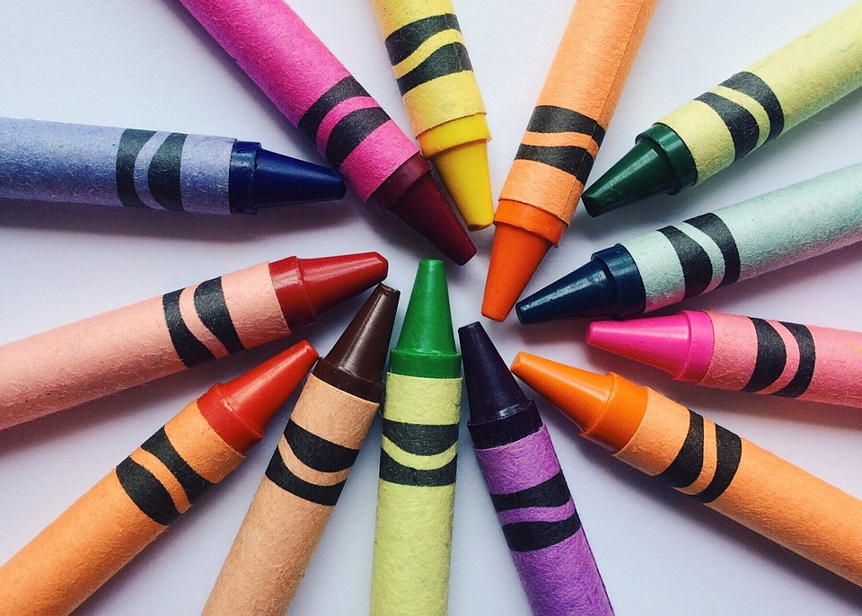 Crayons, Drawing, School, Education, Creative, Child