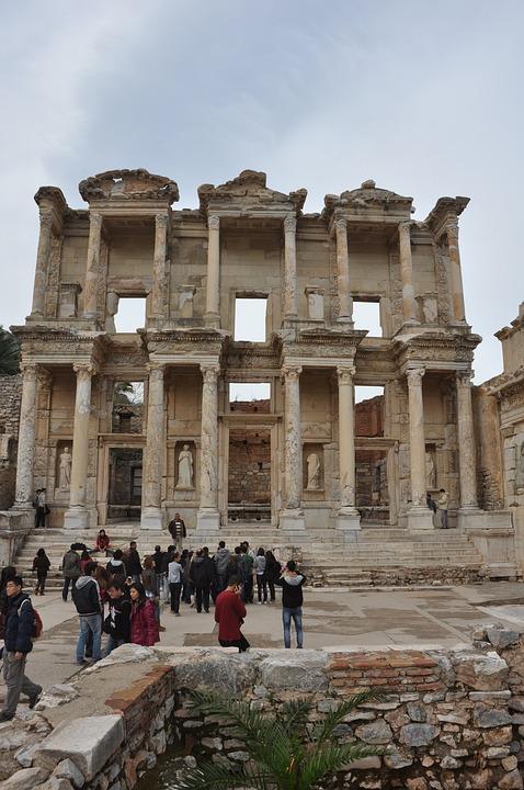 Efes, Ephesus, Ephesus Library
