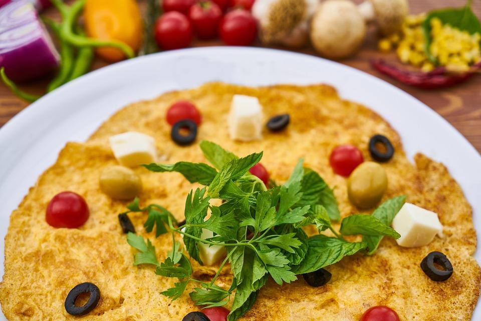 Omelet, Egg, Breakfast, Background, Healthy Lifestyle