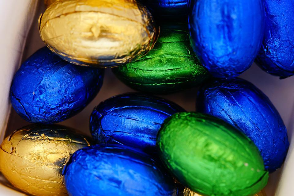 Easter Eggs, Egg, Chocolate Eggs, Chocolate, Easter